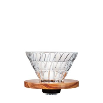 Hario Olive Wood Glass Dripper 02